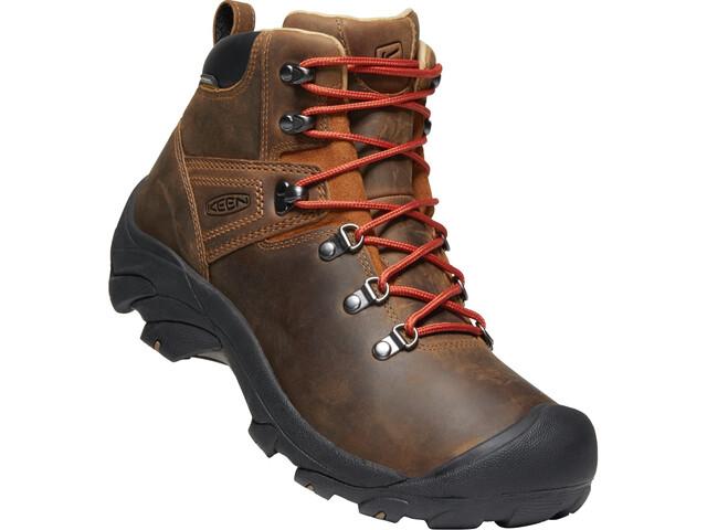 Keen Pyrenees Zapatillas Hombre, marrón